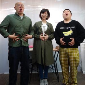 狸小路7丁目「エースタジオボーカルスクール」STVラジオの中継!!! 面白おかしく紹介してくれた札幌出身のお笑い芸人しろっぷさん最高!!!