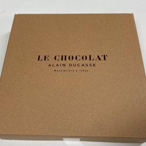 フランス料理の巨匠 アラン・デュカス氏が手掛けるチョコレートショップ「ル・ショコラ・アラン・デュカス」さんの焼き菓子詰め合わせ いただきました!!!