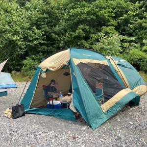 今年三度目の支笏湖モラップキャンプ場!!! 朝イチの静かな湖面を走るカヤックは格別!!!