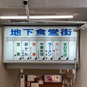 中央バスターミナル地下食堂街「ダイニング 十勝」さんでビーフステーキ定食!!! 最近のステーキ屋さんとは違ううまさがある!!!
