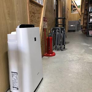 スタジオの待合室(ミーティングルーム)にも空気清浄機を設置(計4台)!