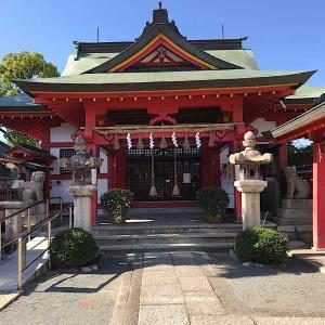 泉佐野の奈加美神社へ孫の七五三まいり・・・