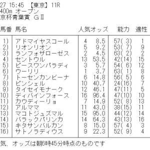 青葉賞 GⅡ