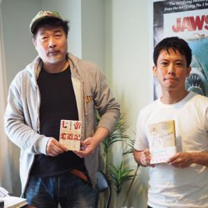 作家の町屋良平さんと対談しました。