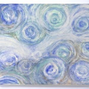日本画体験講座 受講生さんの作品です。