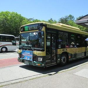 富士急バス Gライン西湖周遊バスに乗る