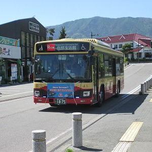 富士急バス Rライン河口湖周遊バスに乗る