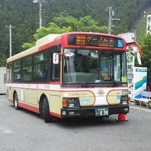西東京バス 御10系統に乗る(御岳駅ーケーブル下 往復)