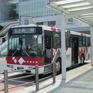 新常磐交通 64系統に乗る(いわき駅→江名)