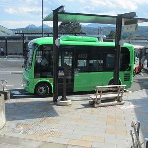 たかやまバスに乗る(中之条駅→中山新田)