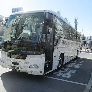 富士急バス 中央高速バス甲府線下り特急便に乗る(バスタ新宿→甲府駅)