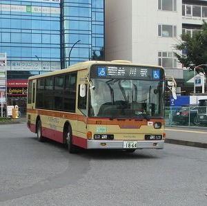 神奈川中央交通 鶴25系統平和台循環に乗る(平和台入口→鶴川駅)