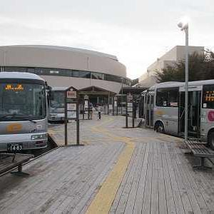 イーグルバス と02系統に乗る(せせらぎバスセンター→武蔵嵐山駅)
