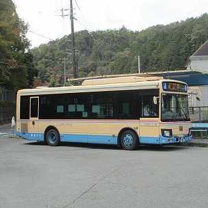 阪急バス 妙見口能勢線の一部区間に乗る(妙見口駅→ケーブル前)
