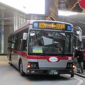 東急バス 幡ヶ谷線渋55系統に乗る(幡ヶ谷折返所→渋谷駅)