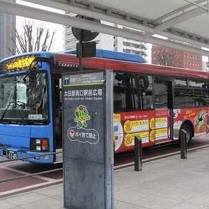矢島タクシーOta-Cityシャトル500に乗る(太田駅南口→熊谷駅南口)