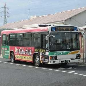 ちばフラワーバス 千葉線に乗る(成東駅→中央2丁目)
