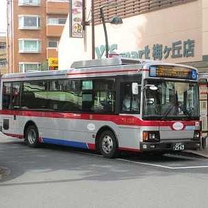 東急バス 祖師谷線等13系統に乗る(梅ヶ丘駅→等々力)