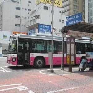 松戸新京成バス 東松戸線松9系統に乗る(松戸駅→河原崎中学校)