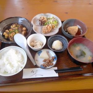 豆腐の昼食