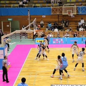 「プロバスケ」試合観戦