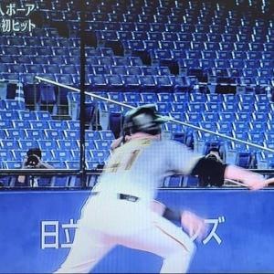 〔旧阪神タイガース〕快挙!令和最大の奇跡!ジャスティン・ボーア19打席目にヒットを打ち、塁に出る