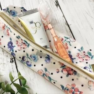 春らしい花柄デザインのアパガード