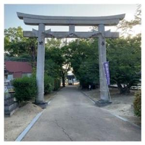 早朝散歩・摩湯淡路神社~2020.06.05