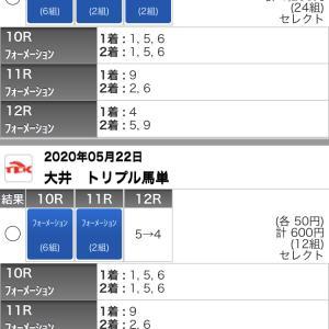 5/22(金)大井競馬の予想