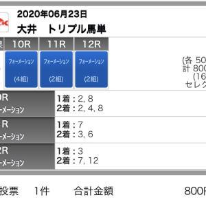 6/23(火)大井競馬の予想
