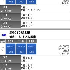 9/22(火)浦和競馬の予想