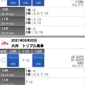 5/20(木)大井競馬の予想