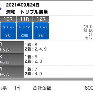 9/24(金)浦和競馬の予想