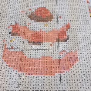 パソコン教室ではいま、とても楽しいエクセル絵やってます