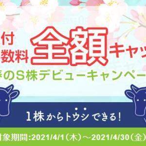 【株主優待・端株】 S株キャンペーン実施中! そして6000円相当もらえます!」