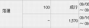 【IPO抽選結果2】 デジタリフト 、主幹事:みずほ証券の結果