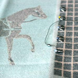 ビーズ刺繍の行程