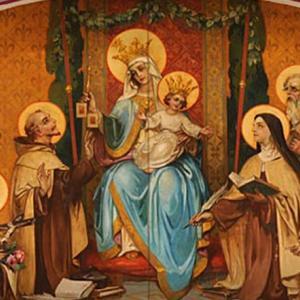 カルメル山の聖母の祝日にミサに与りました
