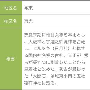 兵庫県:姫路市 【五社稲荷(秀吉の腰掛石)】