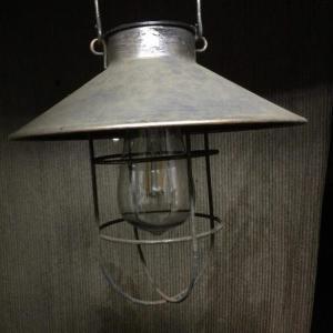 ソーラーライト(ランプ)を修理しました!