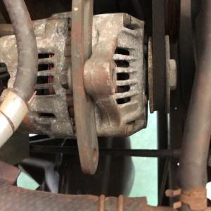 JA11のオルタネーターのベルト交換
