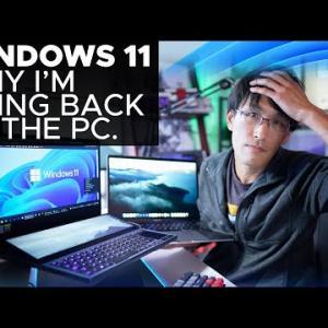 【半端ない】Windows11さんの誰にも期待されてない感!!!!!!