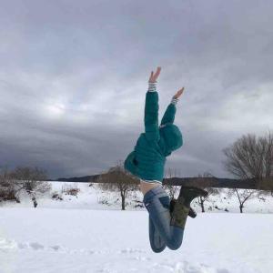 開放感ジャンプ