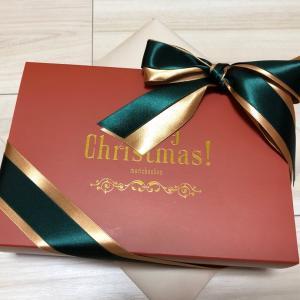 今年最後のコスメボックスはクリスマス仕様♪