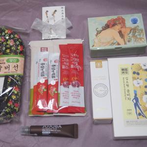 韓国からの素敵な贈り物!ジャヨンミボックス♪