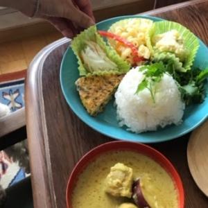 ベトナムカフェのカレー