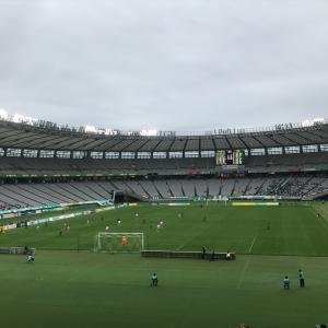 東京ヴェルディーFC岐阜の試合を観に行きました。