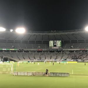 東京ヴェルディー鹿児島ユナイテッドな試合を観に行きました。