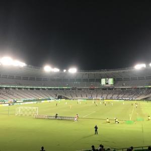 東京ヴェルディーモンテディオ山形の試合を観に行きました。