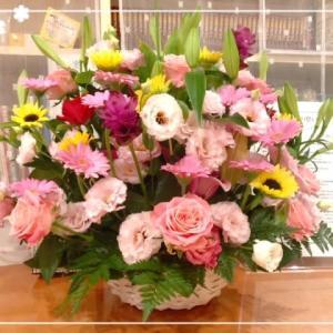 久留米市からお花が届きました🌸